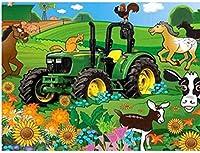 大人のジグソーパズル5000ピース大人のジグソーパズル5000ピース子供大ジグソーパズルゲームおもちゃギフト風景車の動物