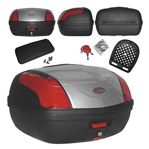 Top Case Moto Touring Bagage Coffer evec Dossier Fermeture...