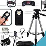 """Durable Full Size 60"""" inch TRIPOD + Universal Camera REMOTE..."""