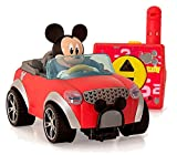 IMC Toys- City Fun Juguete figurina Mickey en su RC Coche, Color Rojo/Negro/Gris, 20 cm...