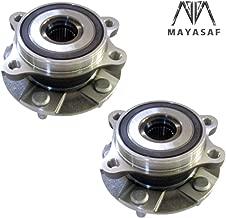 MAYASAF 513257x2 Front Wheel Hub Bearing 5 Lugs ABS Sensor Fit Lexus HS250H/Scion IM/Scion TC/Scion XB/Toyota Prius V/Toyota Rav4