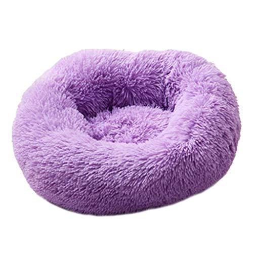 Zacht bed hond wasbaar lange pluche hond kennel diep slapen hond huis fluwelen matten bank hond mand, 40 cm, B