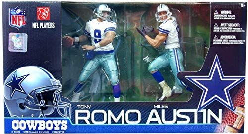 McFarlane Toys NFL Sports Picks Action Figure 2Pack Miles Austin Tony Romo (Dallas Cowboys)