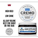 Cremo Premium Barber Grade Hair Styling Thickening Paste, High Hold, Low Shine, 4 Oz 4