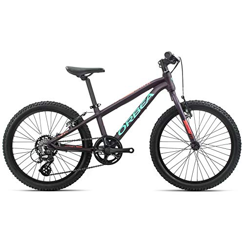 "ORBEA Kinderfahrrad MX 20 Dirt MTB, 7 Gang, 25,7 cm, 20"", Purpur - Rosa, K003"