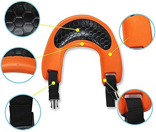Suitable for Children 2-5 Years Old RJHY Outdoor Childrens Shoulder Saddle Childrens Saddle Shoulder Strap Comfortable Seat And All-Round Safety Protection