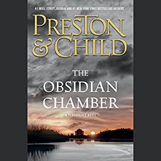 The Obsidian Chamber                   By:                                                                                                                                 Douglas Preston,                                                                                        Lincoln Child                               Narrated by:                                                                                                                                 Rene Auberjonois                      Length: 12 hrs and 55 mins     3,750 ratings     Overall 4.4