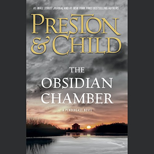 The Obsidian Chamber audiobook cover art