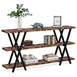 Sofa Table, TV Console Table, Narrow Long Sofa Table with Storage for Entryway, Living Room, 70.8 Inches