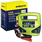 UKB4C 12 Volt 8 Amp Car Battery Charger up to 2.5L for Kia Optima