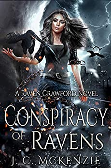 Conspiracy of Ravens (Raven Crawford Book 1) by [J. C. McKenzie]