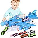 MMPY Avión de Juguete Construir y Jugar Ladrillos del Juguete for los niños Real Modelo de avión de pasaje de Gran tamaño Avión de Juguete Pista inercia Niños Aeropuerto Juego de construcción