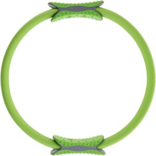 F Fityle Pilates Ring Full Body Toning Fitness Magic Circle High Resistance for Strength, Flexibility