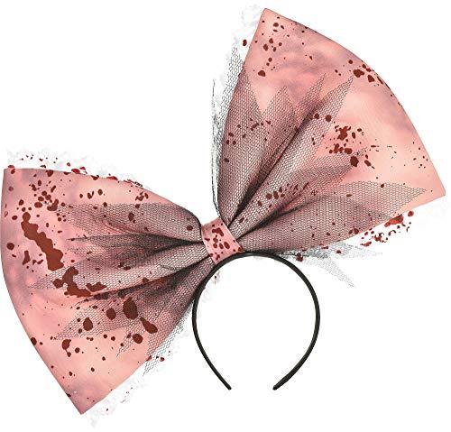 SUIT YOURSELF Adult Creepy Doll Headband Pink