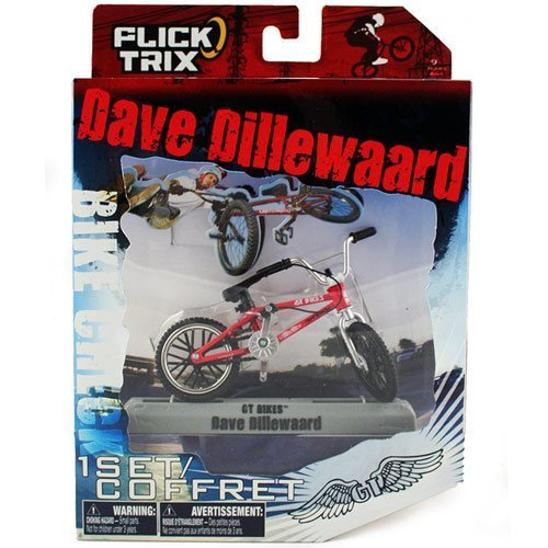 Flick Trix Dave Dillewaard Bike Check [GT] by Spin Master