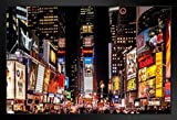 Gießerei Poster Times Square New York City NYC bei Nacht