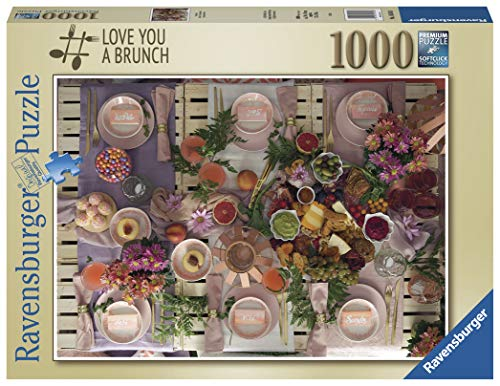 Ravensburger Puzzle Love You a Brunch Puzzle 1000 Teile Foto & Landschaft, Puzzle für Erwachsene