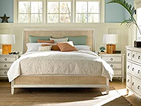 Universal Furniture Summer Hill Complete Woven 6/6 Accent Bed, King, Cotton