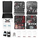 Juego de herramientas de 799 piezas, incluye alicates Llave Llave Destornillador para reparación de automóviles