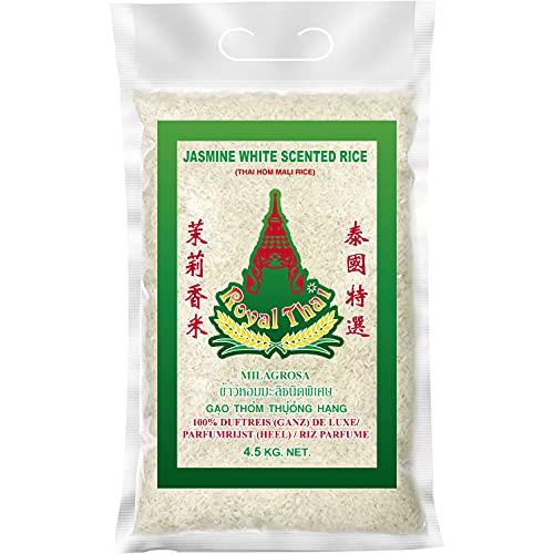 Royal Thai THAI Langkorn Duftreis (ganz) [ 4,5kg ] DE LUXE / Jasmin White Scented Rice / Aus Thailand