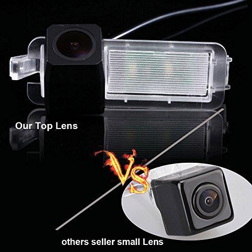 Dynavsal Super Starlight Pro Définition Véhicule Caméra 170 Grand Angle Universel Vision Nocturne Caméra de Recul IP68 Inverse Caméra pour 2017 Jeep Compass