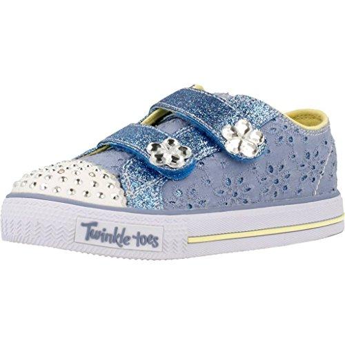 Laufschuhe M�dchen, color Blau , marca SKECHERS, modelo Laufschuhe M�dchen SKECHERS SHUFFLES FRILLSEEKER Blau
