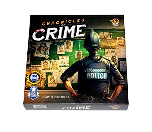 Lucky Duck Games LKY035 - Gioco Chronicles of Crime (Versione Inglese)