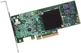 LSI SAS 9300-8i SGL / 6 جيجابايت/ثانية SAS - PCI Express 3. 0 x8 - بطاقة توصيل - 2 منافذ SAS / LSI00344 /