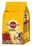 Pedigree Adult Hundefutter Rind und Gemüse, 1 Beutel (1 x 7,5 kg)