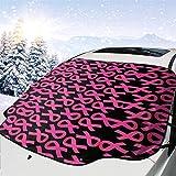 lovely baby-Z Cubierta de nieve para parabrisas de coche, protección de invierno, ajuste universal para coches, camiones, furgonetas y SUV, grueso y grande