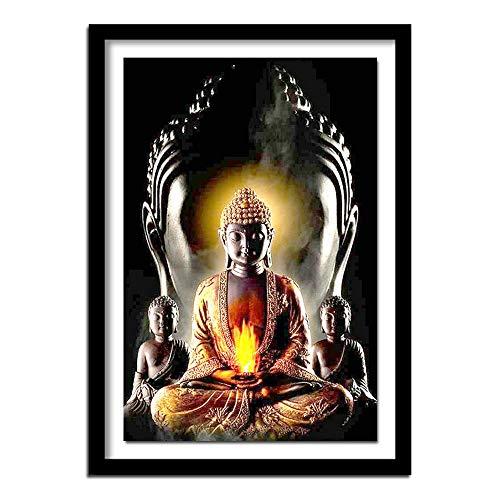 Cwanmh Monje Budista impresión Lienzo Pintura impresión Co