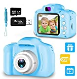 Nynicorny Kids Camera,Digital Camera Rechargeable 2.0 Inch for Children 1080P HD with 32GB