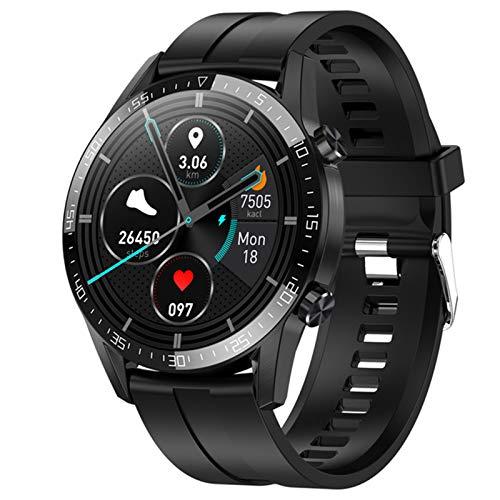 LJMG Smartwatch, Música Electrónica, Reloj Inteligente G5 Bluetooth, ECG, Podómetro, Reloj Inteligente para Android iOS PK L13 DT95,E