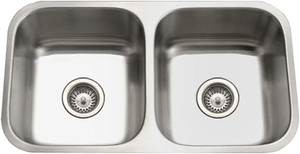 Houzer STD-2100-1 Eston Series quality assurance Popular shop is the lowest price challenge Steel Stainless 50 Undermount
