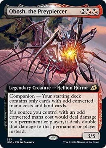 Magic: The Gathering - Obosh, The Preypiercer - Extended Art - Ikoria: Lair of Behemoths