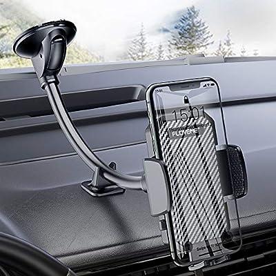 Windshield Phone Holder for Car - FLOVEME Goose...