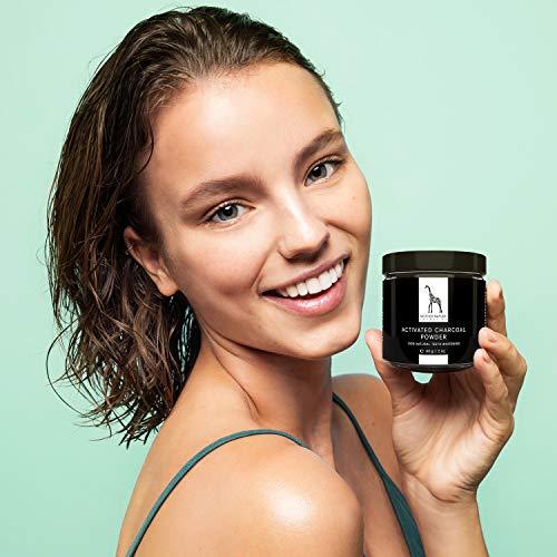 Poudre au Charbon Actif pour des Dents Blanches - 100% NATUREL - Activated Charcoal Teeth Whitening Powder