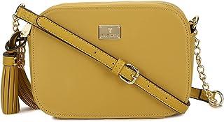 Van Heusen Women's Sling Bag (Yellow)