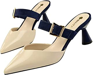 Moquite Donna 2019 Nuovo Sexy Moda Scarpe col Tacco,6.5cm Tacco a Spillo Sandali,Primavera ed Estate Femminile con Tacchi ...
