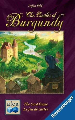 Ravensburger - 81503 - Castelli di Borgogna, Gioco di Carte [Lingua Italiana Non Garantita]