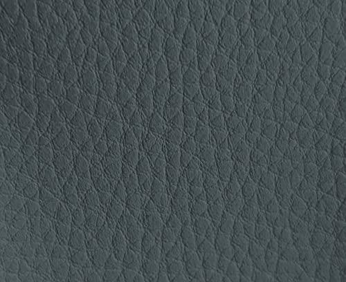 HAPPERS 1 Metro de Polipiel para tapizar, Manualidades, Cojines o forrar Objetos. Venta de Polipiel por Metros. Diseño Luna Color Gris Ancho 140cm