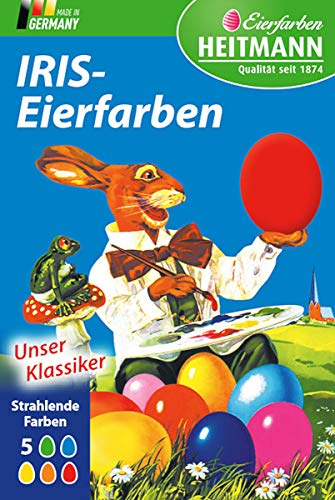 Iris-Eierfarben Tabletten