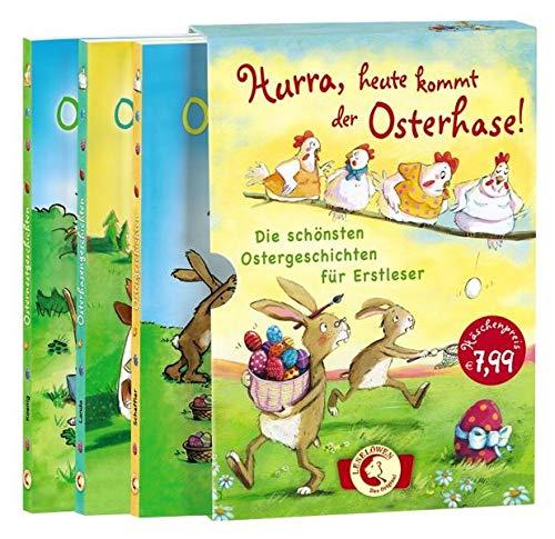 Hurra, heute kommt der Osterhase!: Die schönsten Ostergeschichten für Erstleser ab 8 Jahre