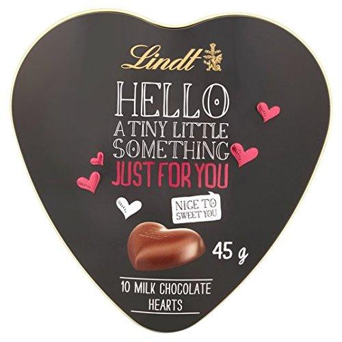 Lindt Coeur De Bonjour 10 Lait Coeurs En Chocolat 45G
