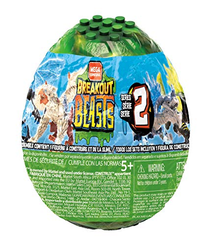 Mega Breakout Beasts Wave 2, multicolor (Mattel GFM62) , color/modelo surtido
