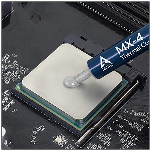 ARCTIC MX-4 (Espátula incl, 8 g) - Compuesto térmico de alto rendimiento de micropartículas de carbono, pasta térmica… 4