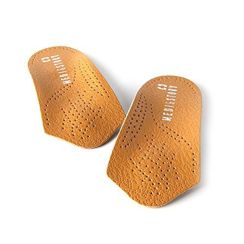 Medi&Story Plantar fascitis ortesis calzado plantillas media plantilla arco soporte XL(mujeres 10.5~11/hombres 9.5~10)