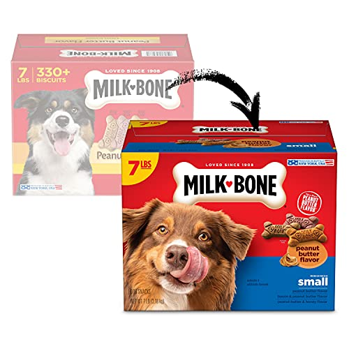 Milk-Bone Peanut Butter Flavor Naturally & Artificially Flavored Dog...