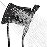 AKDY 9 Inch 4-Spray Multi-Function Rainfall Shower Head &...