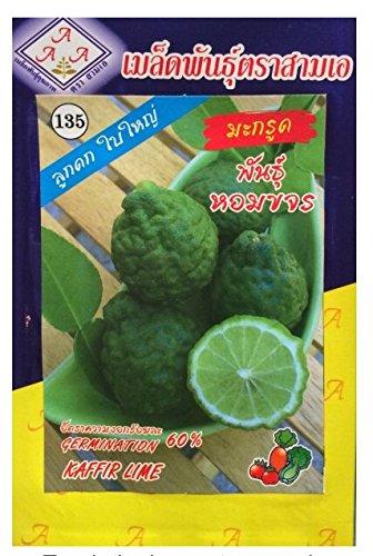 Thai Cafre Organic Lime Seed Sam marque. Pack de 3.
